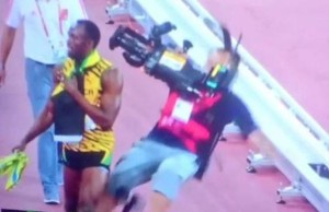 Usain Bolt atropellado