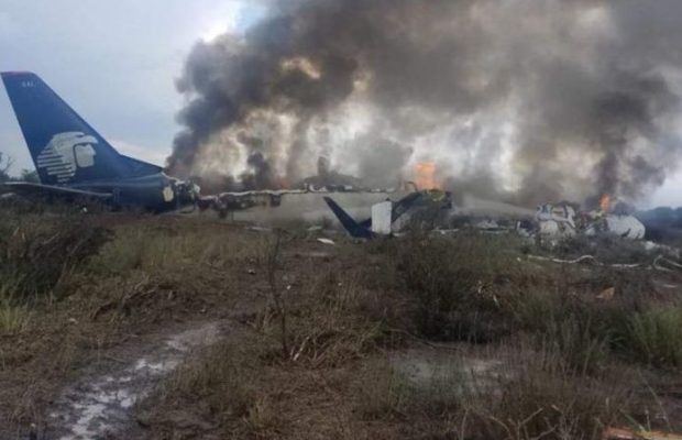 Aeroméxico registra accidente en Durango #Vuelo2431